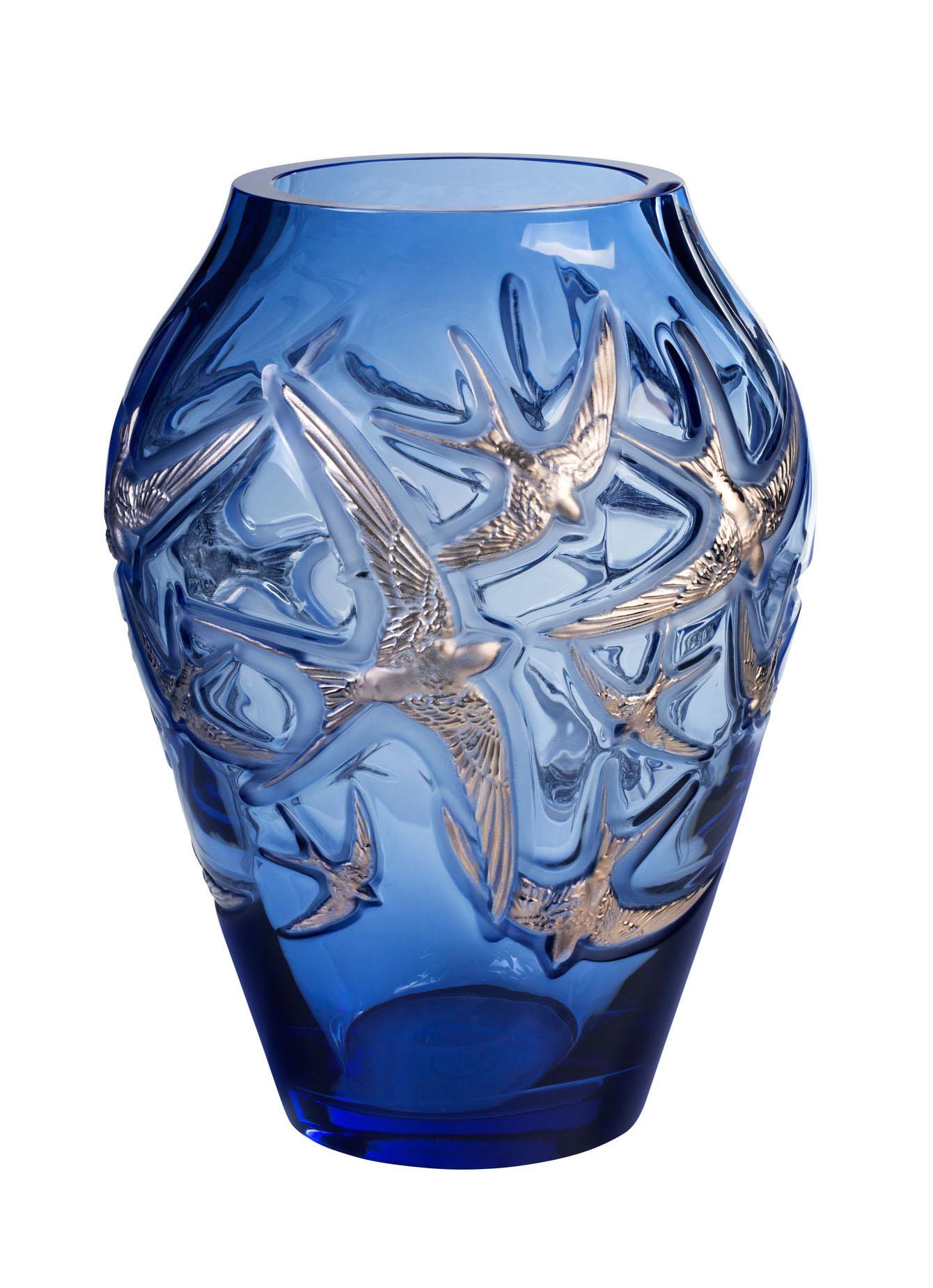 Schwalben aus Kristall - Lalique