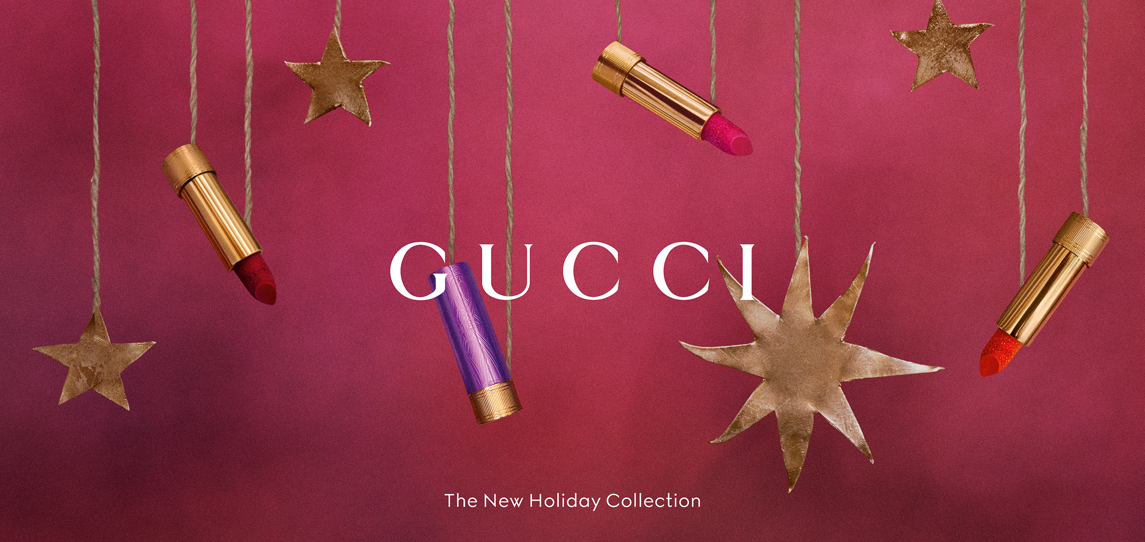 Gucci Beauty: The New Holiday Edition